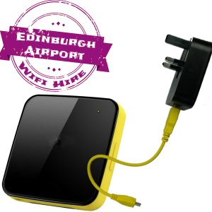 Edinburgh airport wifi internet rental