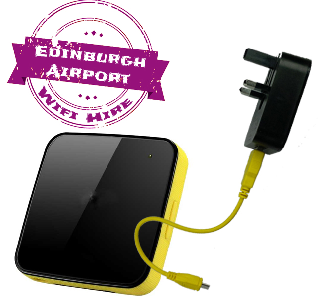 Edinburgh airport wifi internet rental