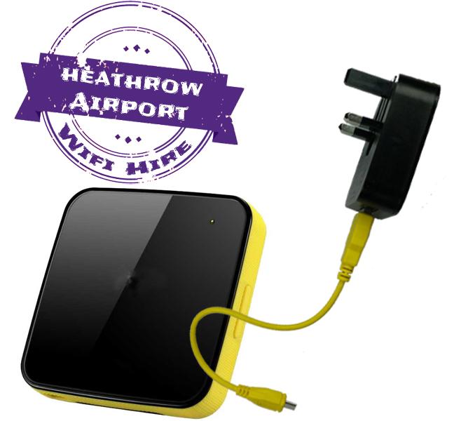 Heathrow airport wifi internet rental